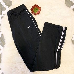 Nike Pants & Jumpsuits - Nike Straight Fit Sweatpants W/ Zippers